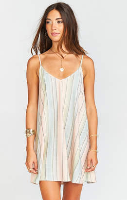 Show Me Your Mumu Circus Mini Dress ~ Nevada Stripe Flux
