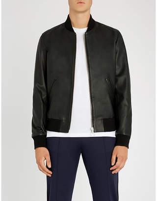 The Kooples Bomber leather jacket
