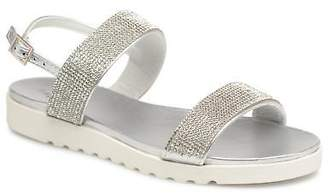 Xti Kids's Sandals in Silver - Synthetic - UK 12.5 Kids / EU 31
