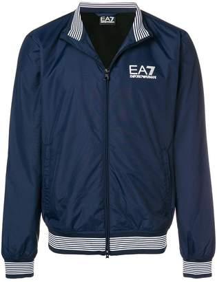 Emporio Armani Ea7 zipped logo jacket