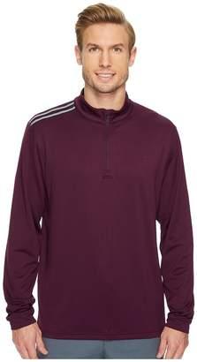 adidas Classic 3-Stripes 1/4 Zip Pullover Men's Sweater