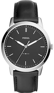 66e216348e311 Fossil Men s Minimalist Leather Strap Watch