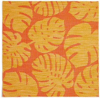 Fiesta Tropical Leaf Warm Woven Pvc Placemat