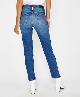Tommy Jeans High Rise Slim Jean Izzy Blue