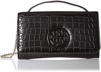 At Guess Kamryn Croc Wallet On A String