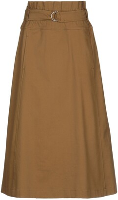 Gold Case 3/4 length skirts
