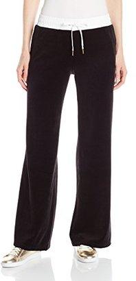 Juicy Couture Black Label Women's FT Velour Pant $75.43 thestylecure.com