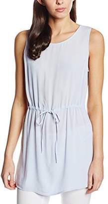 New Look Women's Waisted Longerline Tunic Sleeveless Vest