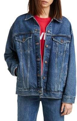 Levi's Baggy Here I Go Again Denim Trucker Jacket