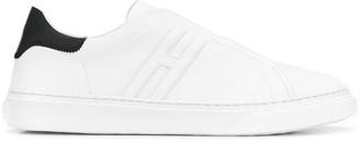 Hogan flat laceless sneakers