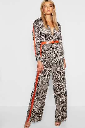 660fd297f9b4 Side Stripe Wide Leg Trousers Women - ShopStyle UK