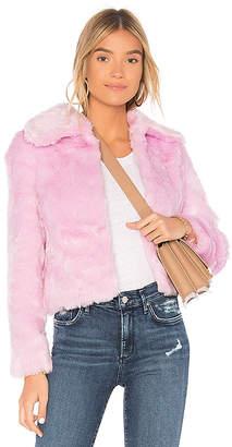EAVES x REVOLVE Ryder Faux Fur Jacket