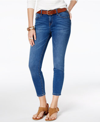 Tommy Hilfiger Greenwich Cropped Skinny Jeans, Only at Macy's $69.50 thestylecure.com
