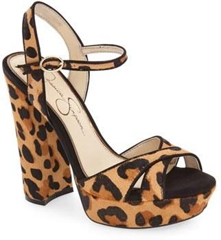 Women's Jessica Simpson 'Naidine' Platform Sandal $118.95 thestylecure.com