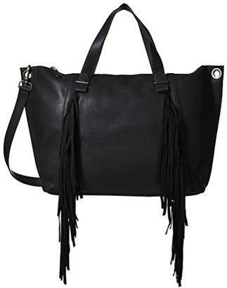 Steve Madden Women's Lucyy Fringe Tote $48.96 thestylecure.com