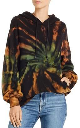 Cotton Citizen Brooklyn Oversize Tie-Dye Hooded Sweatshirt