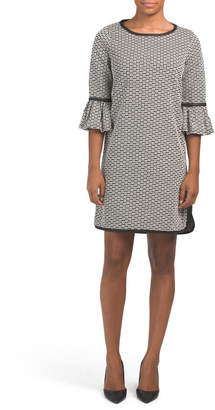 Double Knit Jacquard Dress