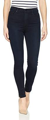 "Black Orchid Women's Kate 11"" Super High Rise Jean"