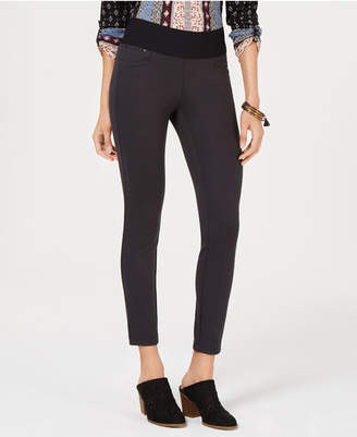Style&Co. Style & Co Mid-Rise Ponte-Knit Leggings, Created for Macy's