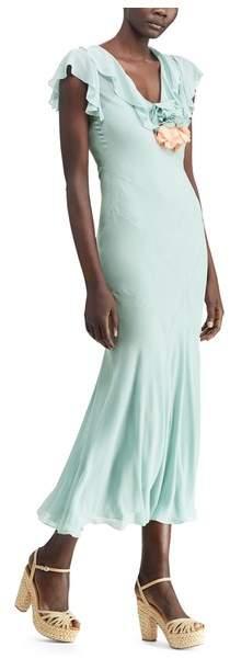 Ralph Lauren Collection Ralph Lauren Collection Juliette Silk Georgette Dress