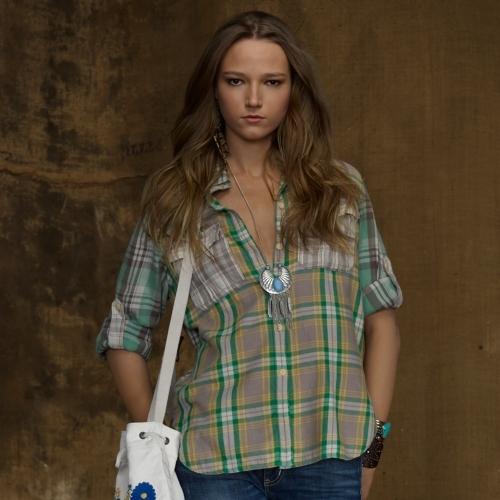 Denim & Supply Ralph Lauren Multi-Plaid Expedition Shirt