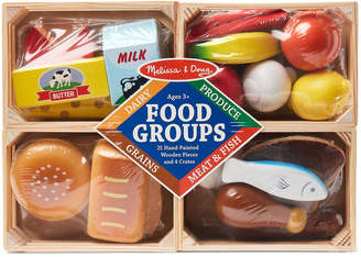 Melissa & Doug Wooden Food Groups Set