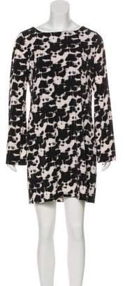 Nicole Miller Long Sleeve Mini Dress