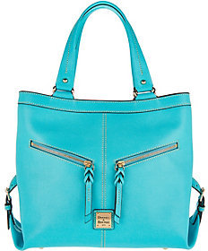 As Is Dooney & Bourke Saffiano Leather Shoulder Bag