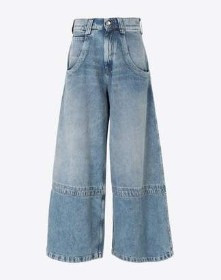 Maison Margiela (メゾン マルジェラ) - MAISON MARGIELA cropped denim jeans