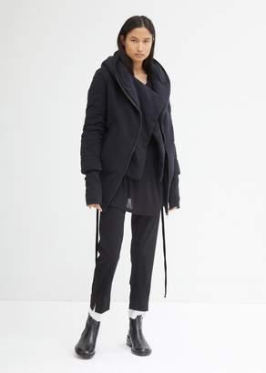 Ann Demeulemeester Hooded Bomber Jacket
