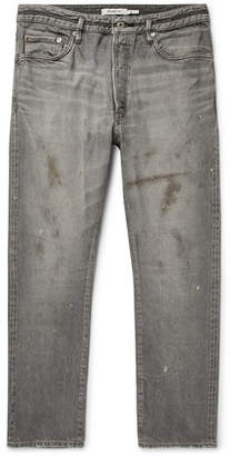 Nonnative Dweller Distressed Selvedge Denim Jeans