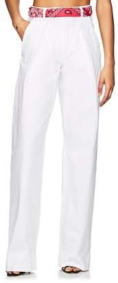 Atelier Jean Women's Delphine Pleated High-Rise Jeans