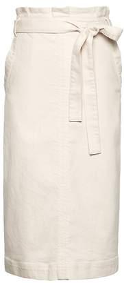 Banana Republic Paper Bag-Waist Pencil Skirt