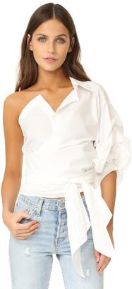STYLEKEEPERS One Shoulder Top $98 thestylecure.com