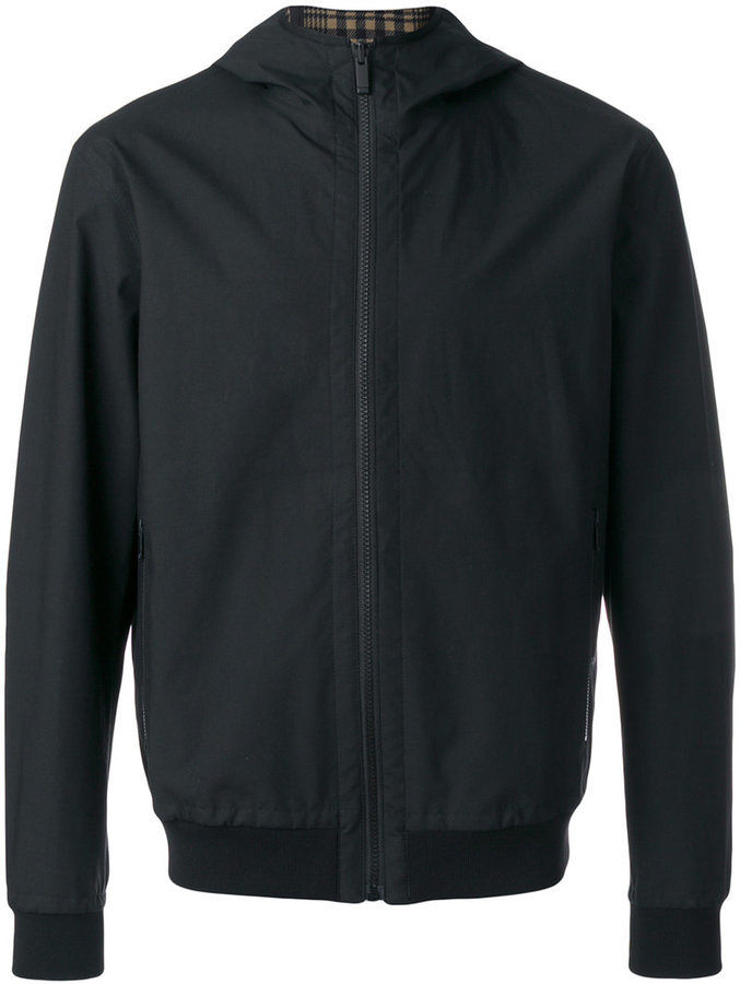 Z Zegna hooded lightweight jacket