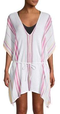 Dolce Vita Printed Cotton Cover-Up Tunic