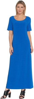 Linea By Louis Dell'olio by Louis Dell'Olio Regular Moss Crepe Maxi Dress