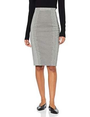Karen Millen Women's Gingham Pencil Skirt,(Size:)