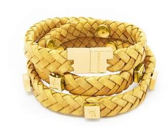 Brio Tissuville Bracelet Mustard Gold