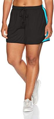 Fruit of the Loom Fit for Me by Women's Plus Size Mesh Knit Short