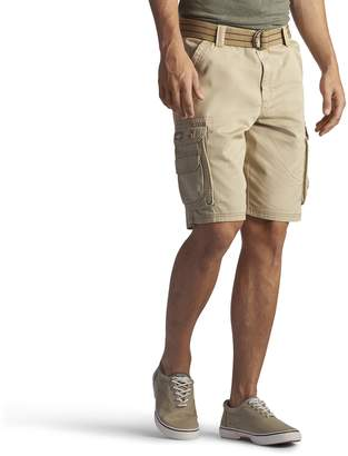 Lee Men's New Dungarees Belted Wyoming Cargo Pocket Short