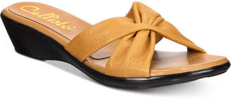 Callisto Staunton Slide Wedge Sandals, Created for Macy's Women's Shoes
