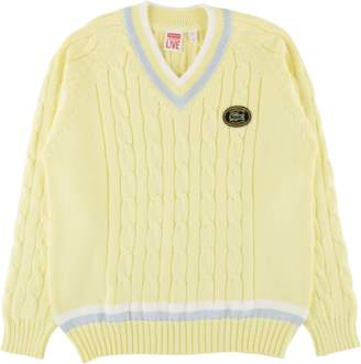 Lacoste Supreme Tennis Sweater - 'SS 17' - Light Yellow