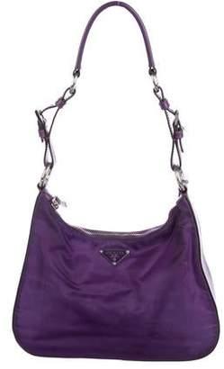e99b8de4e504cb Prada Purple Leather Handbags - ShopStyle