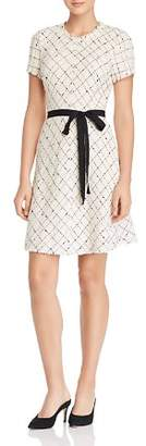 Rebecca Taylor Plaid Tweed Dress