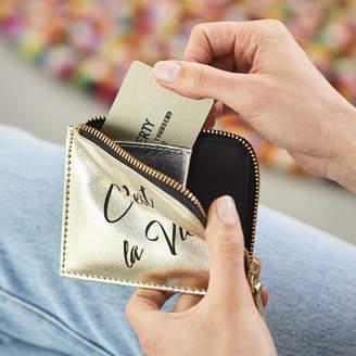 a76bbb4636f5 Vida Vida Personalised Card Holder Purse