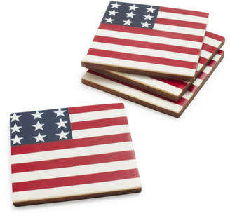 Sur La Table American Flag Coasters
