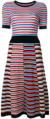 Parker Chinti & striped dress