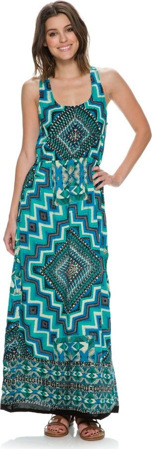 Angie Ruthie Cross Back Maxi Dress