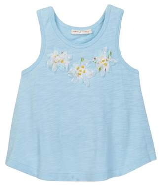Mimi & Maggie Daisy Tank Top (Toddler, Little, & Big Girls)